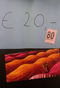 Lootjes 20 euro